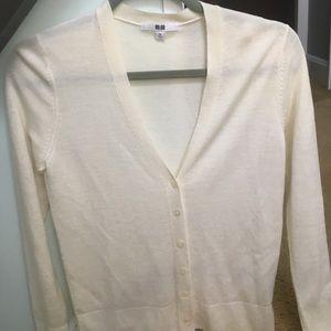V-neck button down cardigan